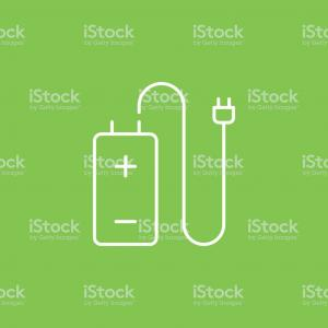 Vector Battery Charger: Battery Charging Symbol Sign Isolate On White Background Vector Illustration Eps Gm