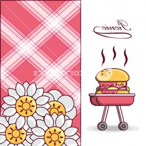 Vector Time Grilling: Bbq Grill With Grilled Hamburger Icon Colorful Design Vector Illustration Sfqmqlcgjfvzi