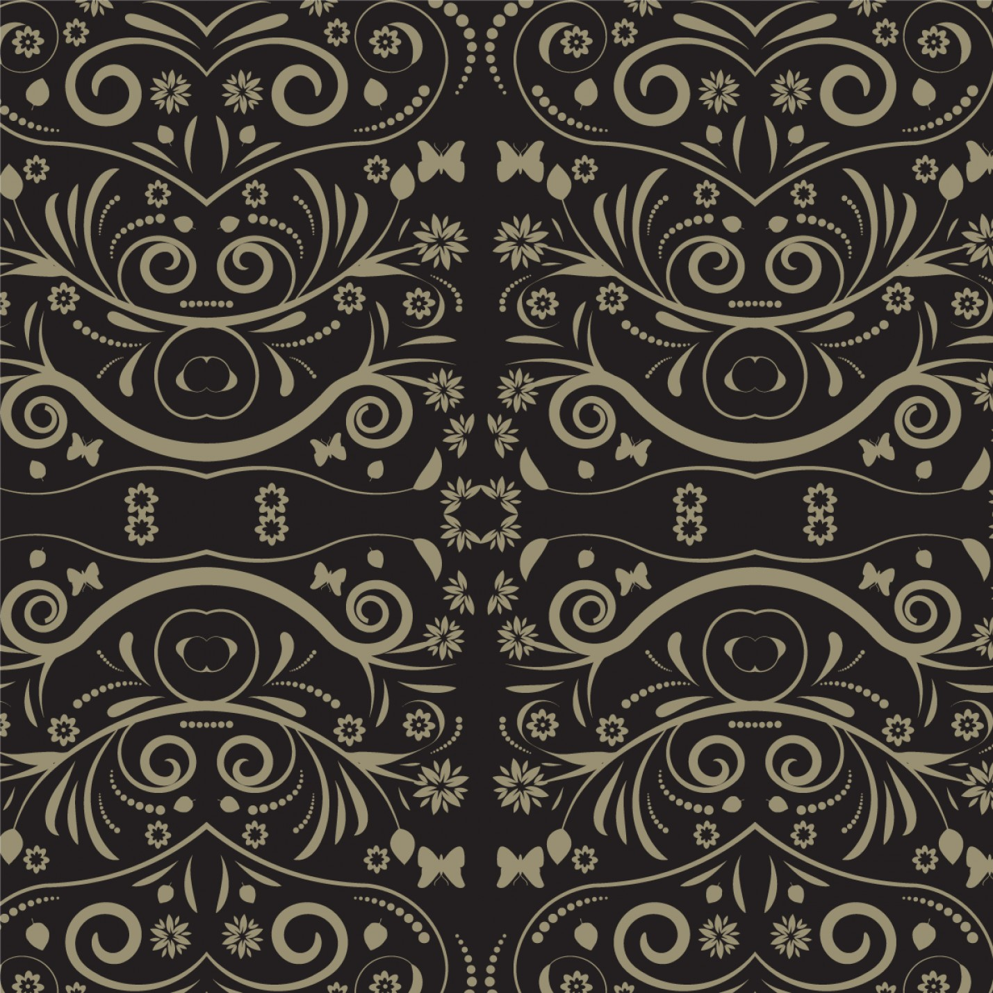 Beautiful Patterns Vector: Beautiful Pattern Vector Background