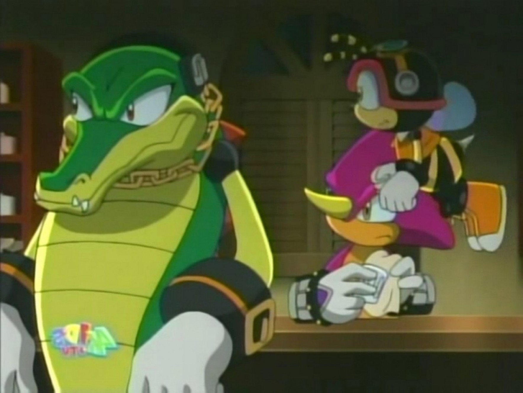 Vector And Espio Toy: Bee Vector New Espio The Chameleon Sonic X Sonicwiki