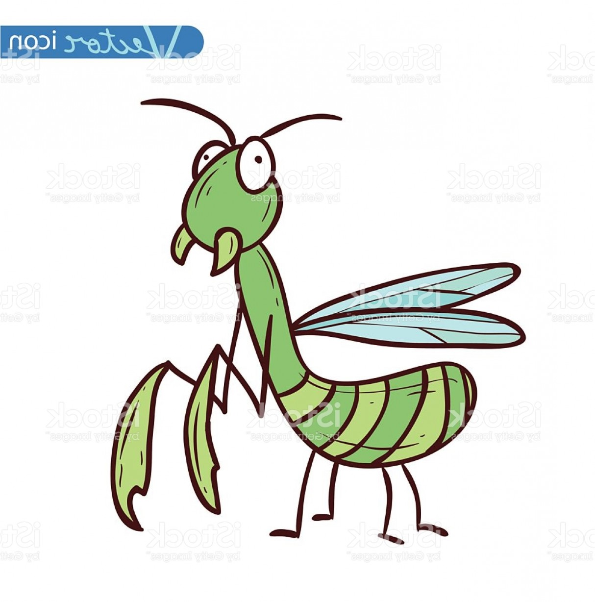 Bug Vector Art: Beetle Cartoon Bug Insect Icon Vector Illustration Gm