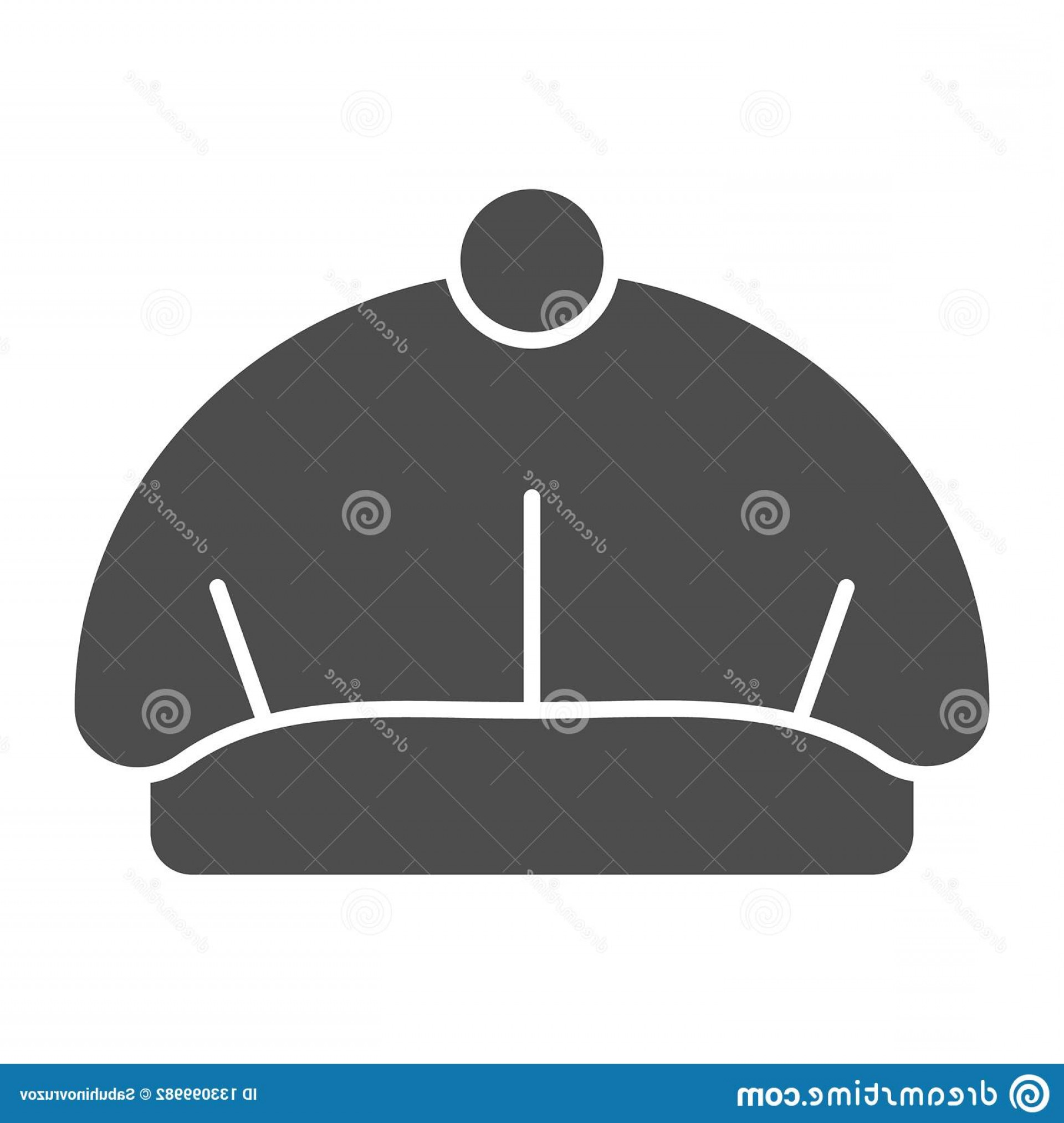 Beret Hat Vector: Beret Solid Icon Hat Vector Illustration Isolated White Cap Glyph Style Design Designed Web App Eps Beret Solid Icon Image