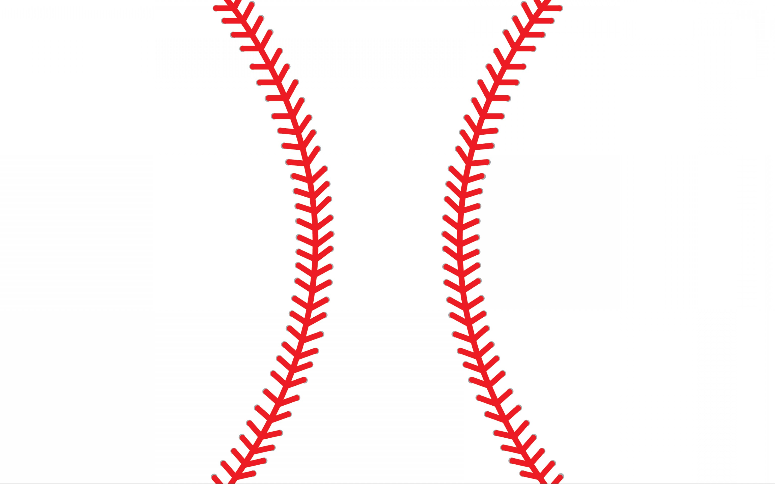 Softball Laces Vector Art B W: Best Baseball Stitches Png Vector Library