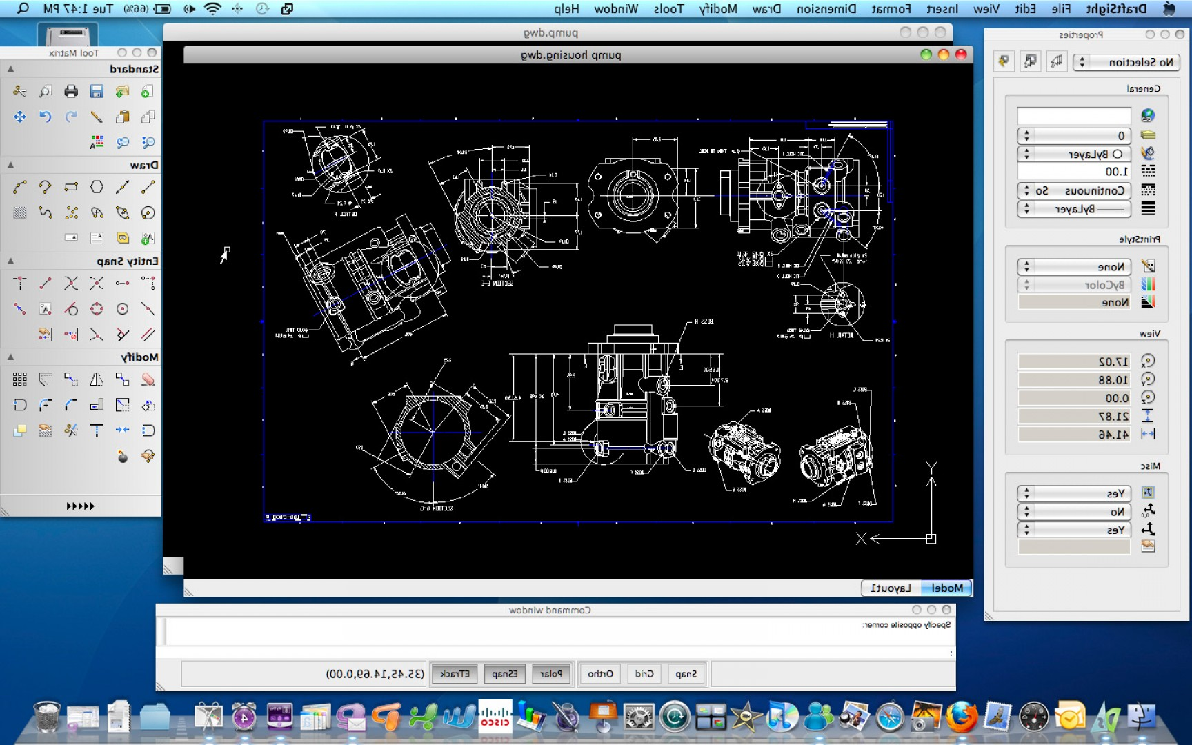 Falcon 50 Vector 2D CAD Drawings: Best Free Cad Design Software For Mac Everything To Know