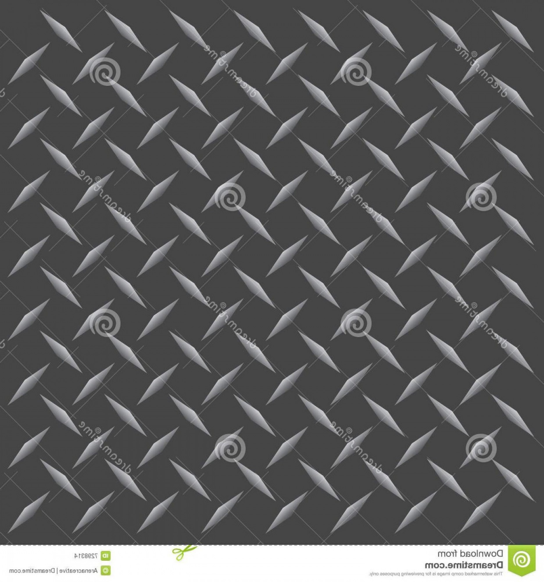 Tread Plate Vector: Best Free Diamond Plate Vector Image