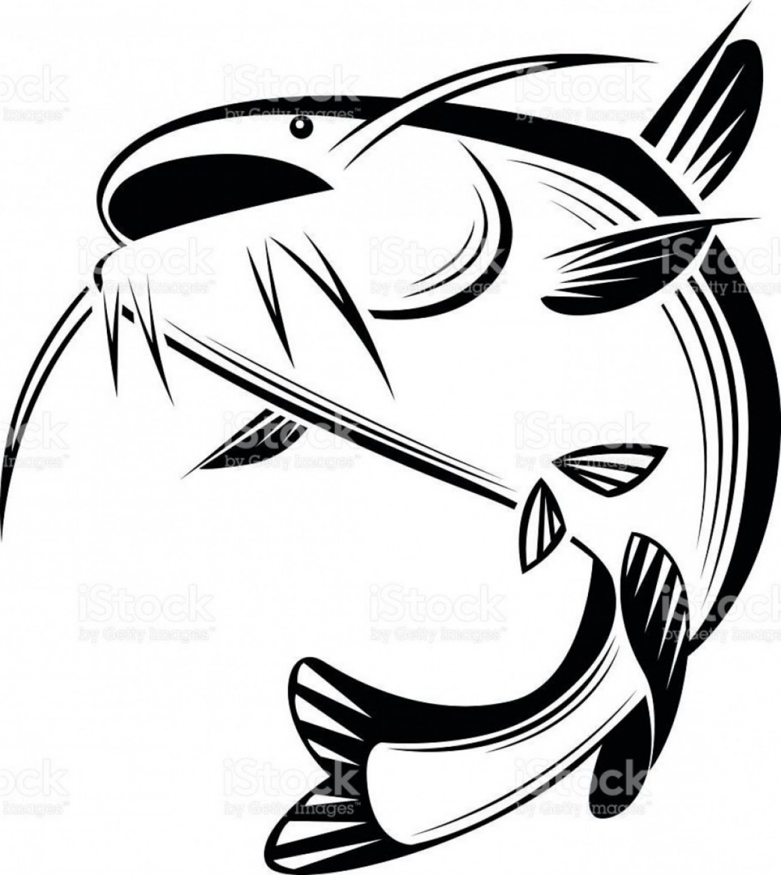 Catfish Vector Logo: Best Free Graphic Catfish Vector Cdr