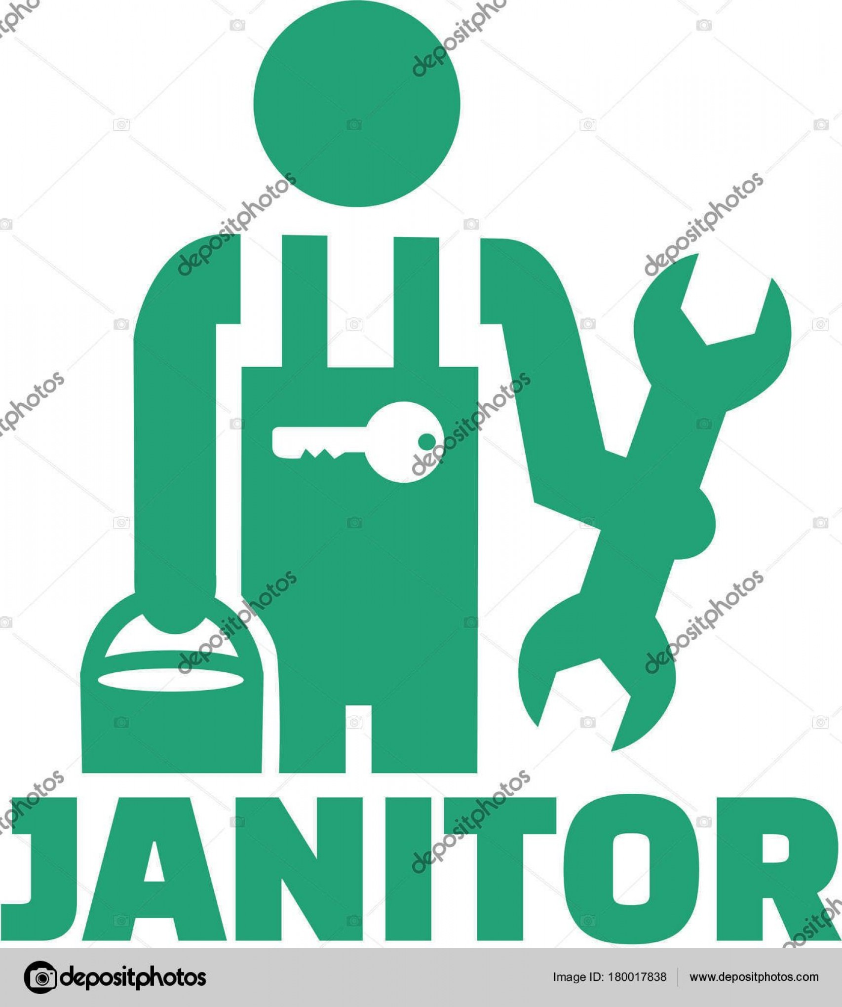 Janitorial Vector: Best Free Janitor In A Factory Vector Pictures