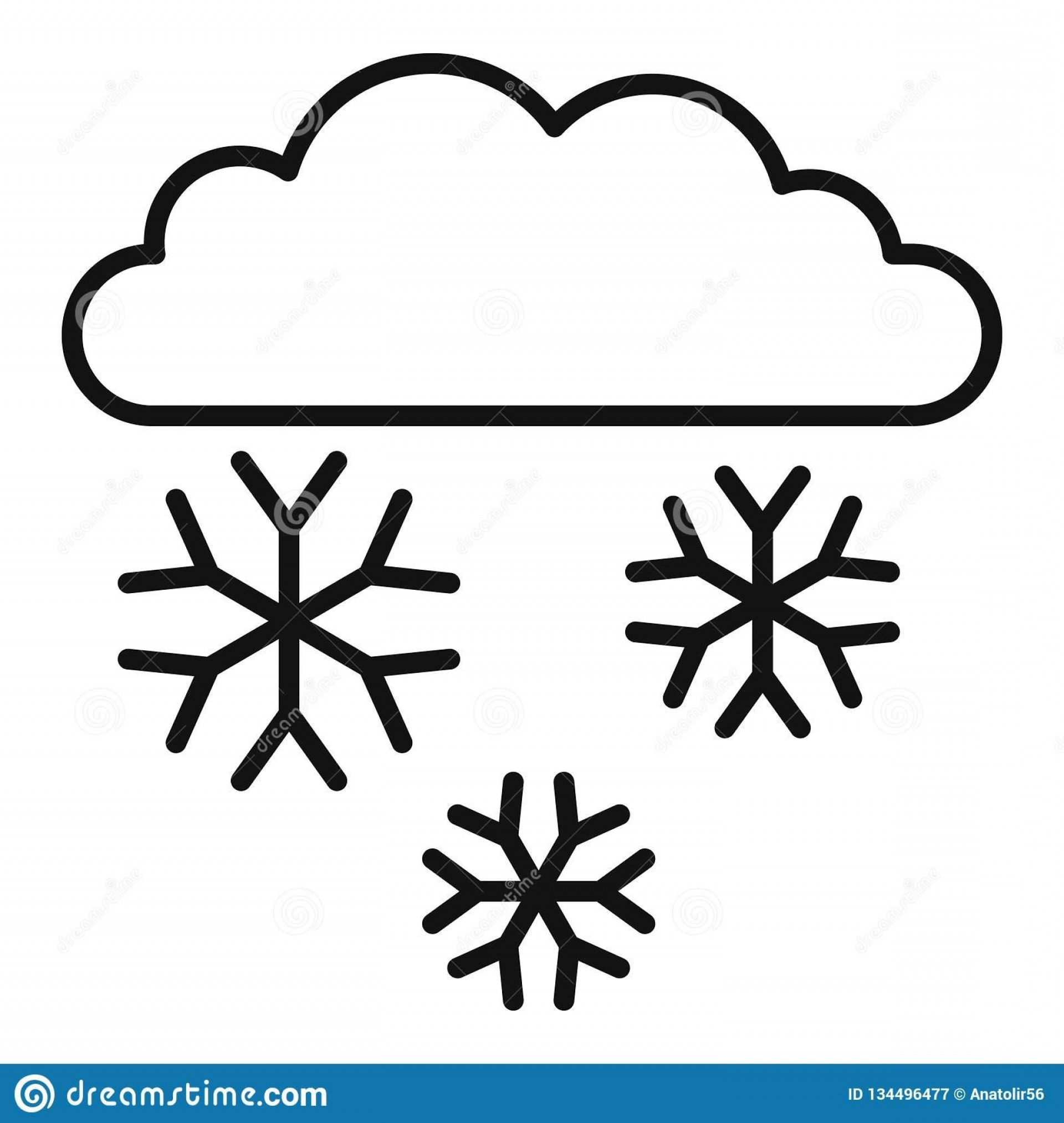 Snow Cone Vector Free: Best Free Snow Outline Vector Cdr
