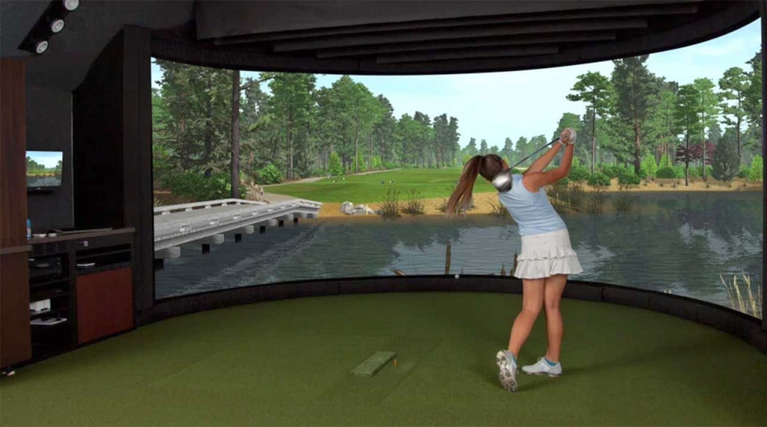 Vector Golf Simulator: Best Golf Simulator For Your Budget