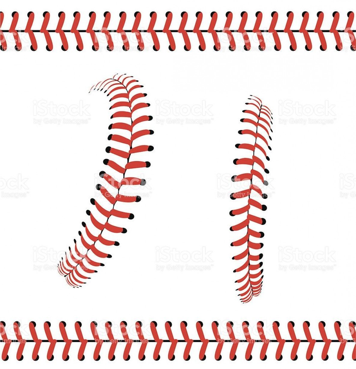Laces Basball Vector: Best Hd Baseball Stitches Or Laces Graphic Pattern Vector Drawing