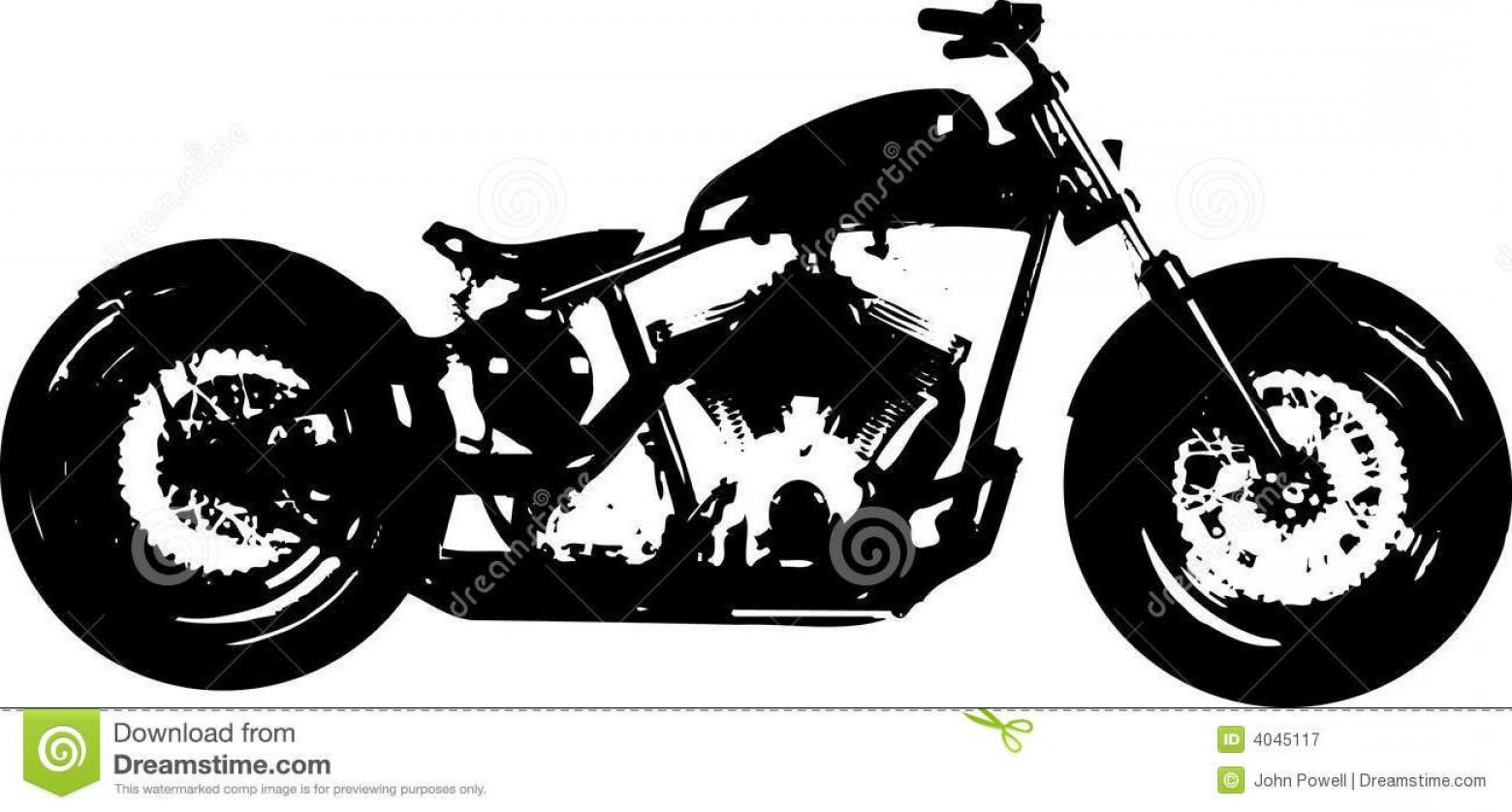 Harley-Davidson Flame Vector Silhouette: Best Hd Harley Tank Art Vector Photos