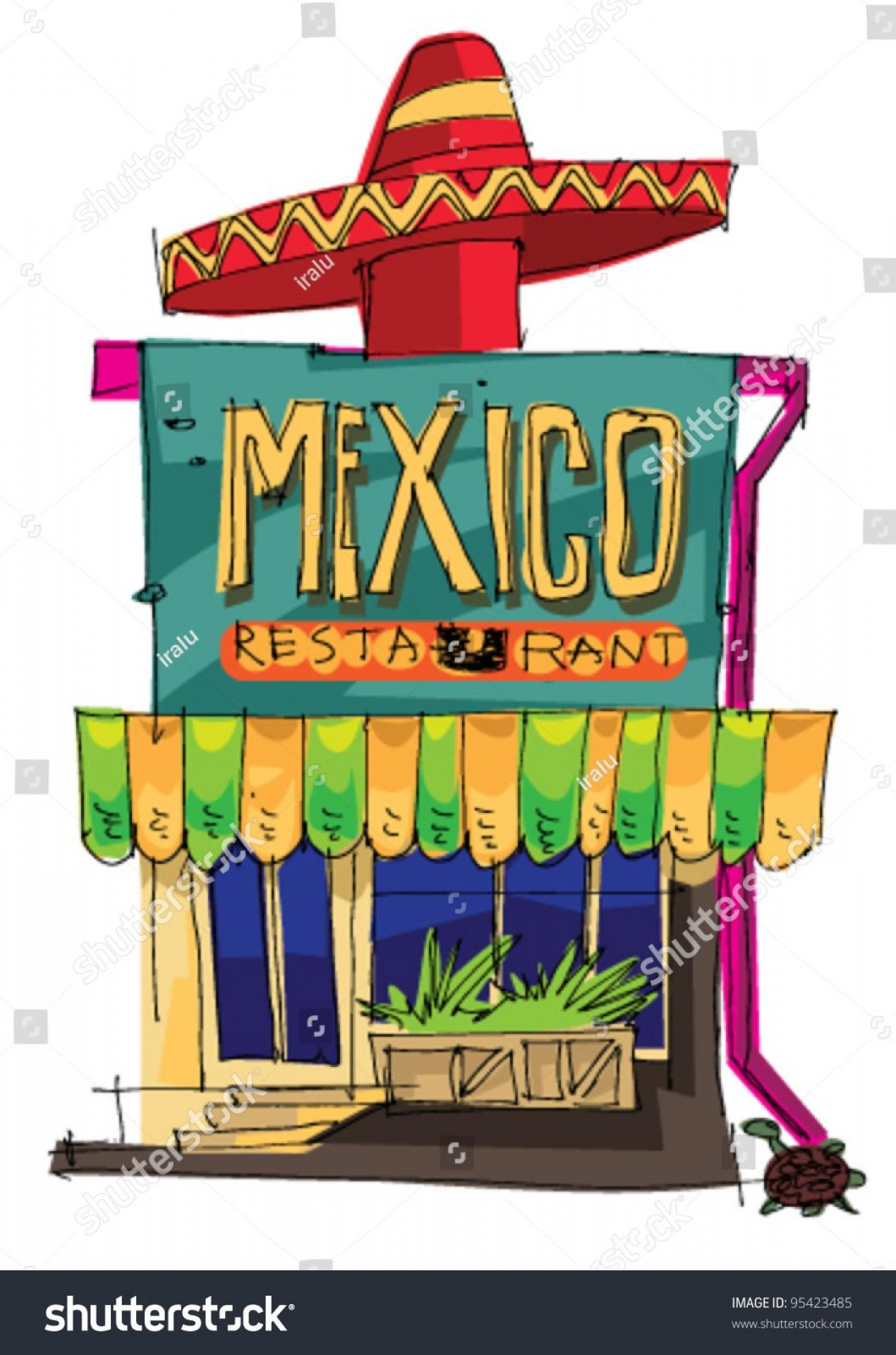 Steak Taco Vector Art: Best Mexican Restaurant Clip Art Library