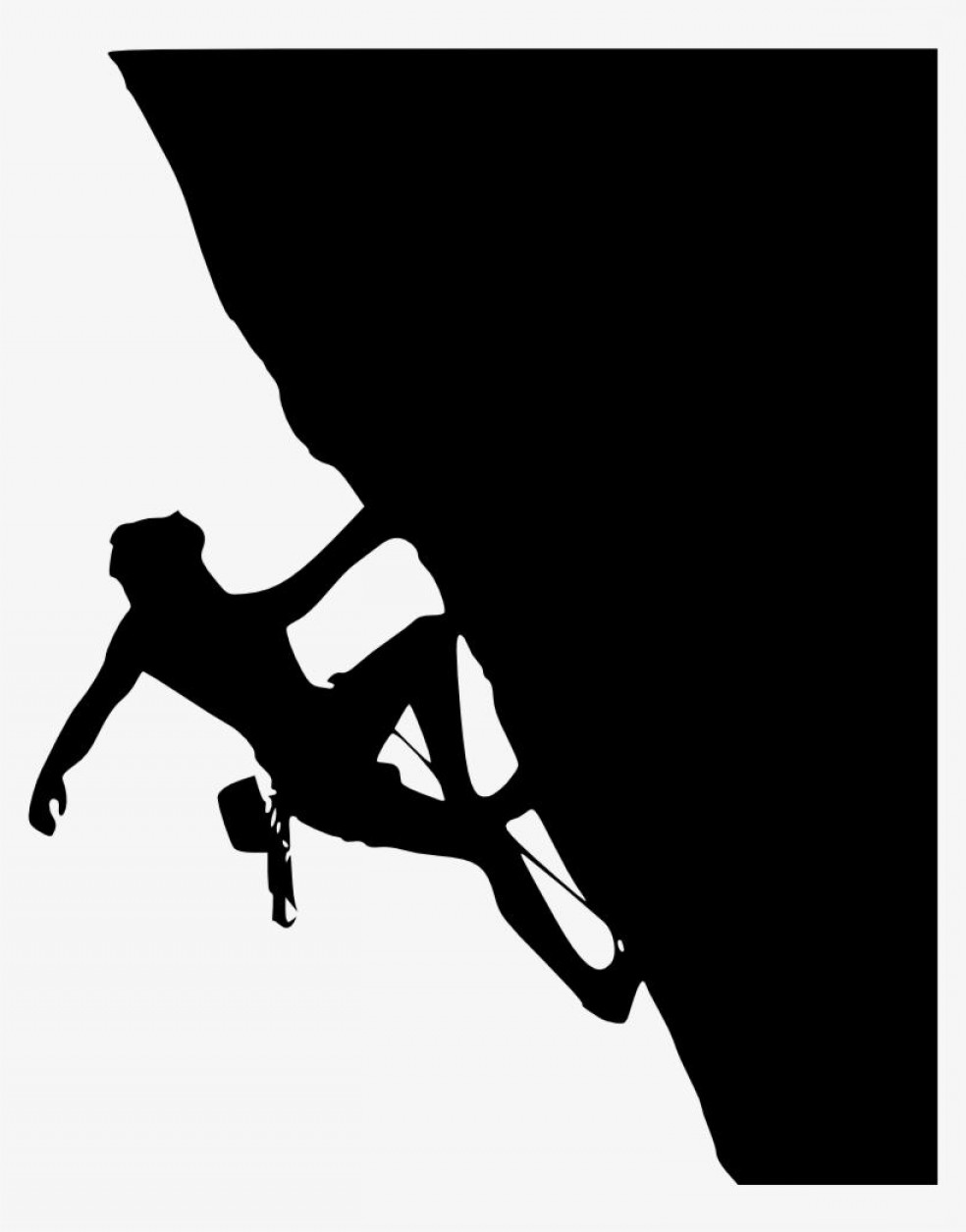 Climbing Silhouette Vector Art: Best Rock Climbing Clip Art Cdr