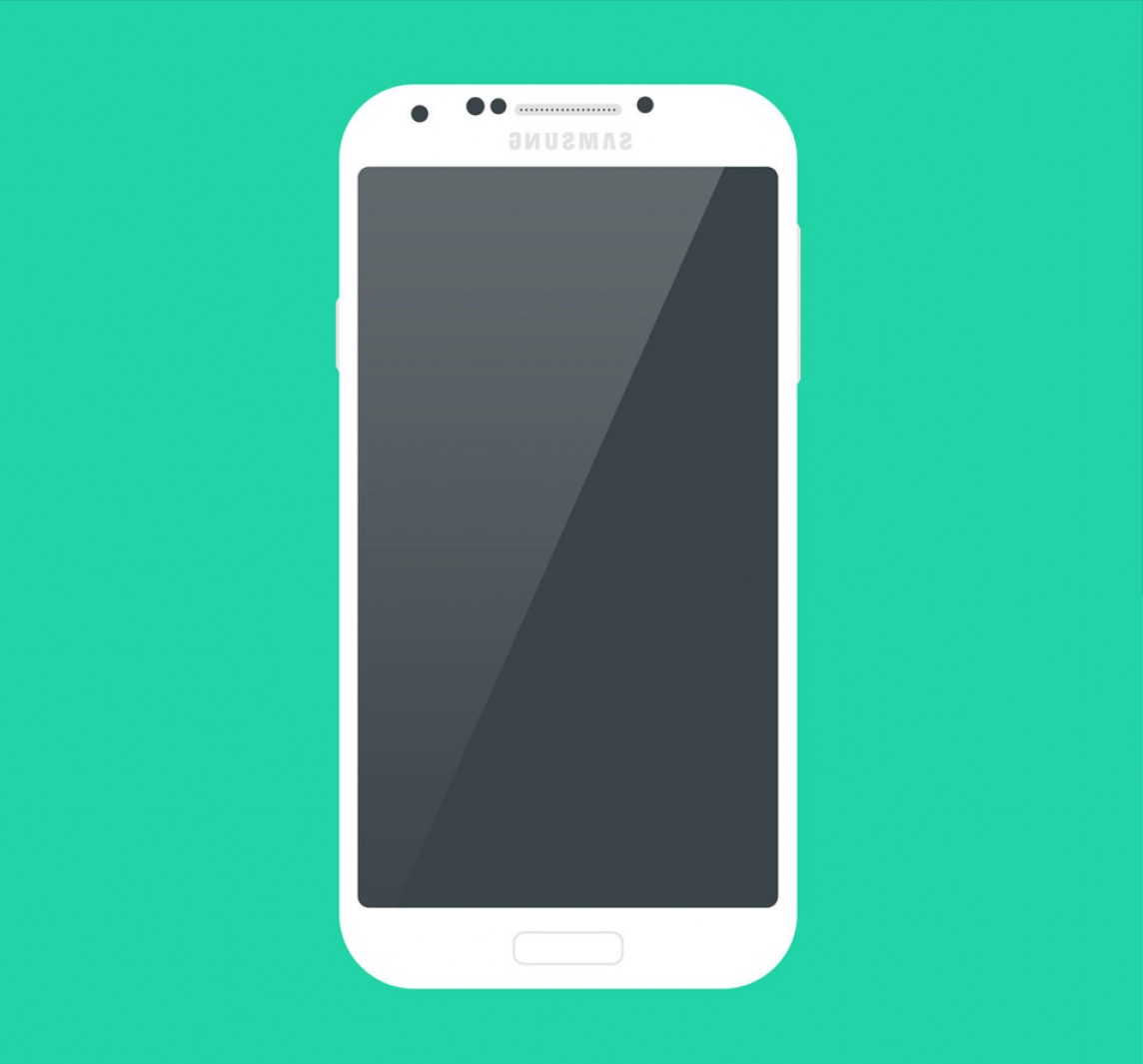 Vector Galaxy S4: Best Smartphone Mockup Psd Templates For Your Design