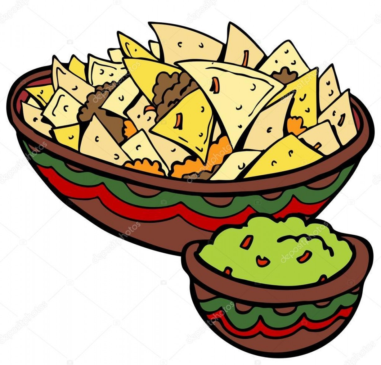 Chips Queso Vector: Best Vector Con Queso Nachos Vector Photos