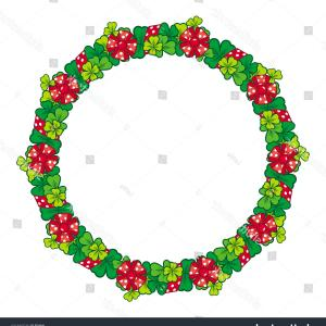 Summer Wreath Free Vector Watercolor: Royalty Free Stock Photography Summer Wildflower Wreath Image