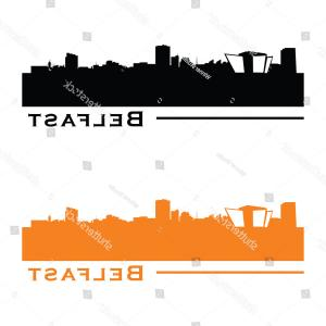 UK Skyline Vector: London England United Kingdom Skyline Vector