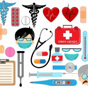 Doctor Who Vector Art Border: Best Doctor Kit Clip Art Drawing
