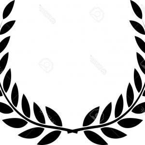 Award Vector Leaves: Winner Leaf Of Glory Isolated On White Gm