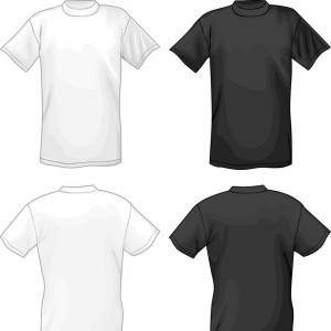 Human Body Blank Template Vector: Best Free Large Printable T Shirt Template Vector Images