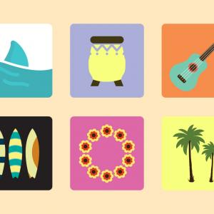 Hawaiian Vector: Best Hawaiian Vector Art Image