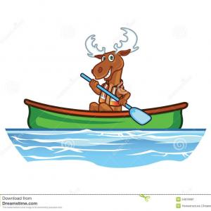 Canoe Vector: Best Hd Cartoon Canoe Vector Images