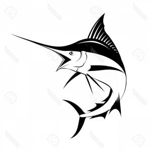 Fishing Vector Art Files: Best Hd Marlin Fish Vector Cdr