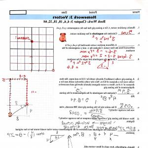 Vectors Trig Precalculus Worksheet: Best Top Vector Addition Worksheet With Answers Image Li