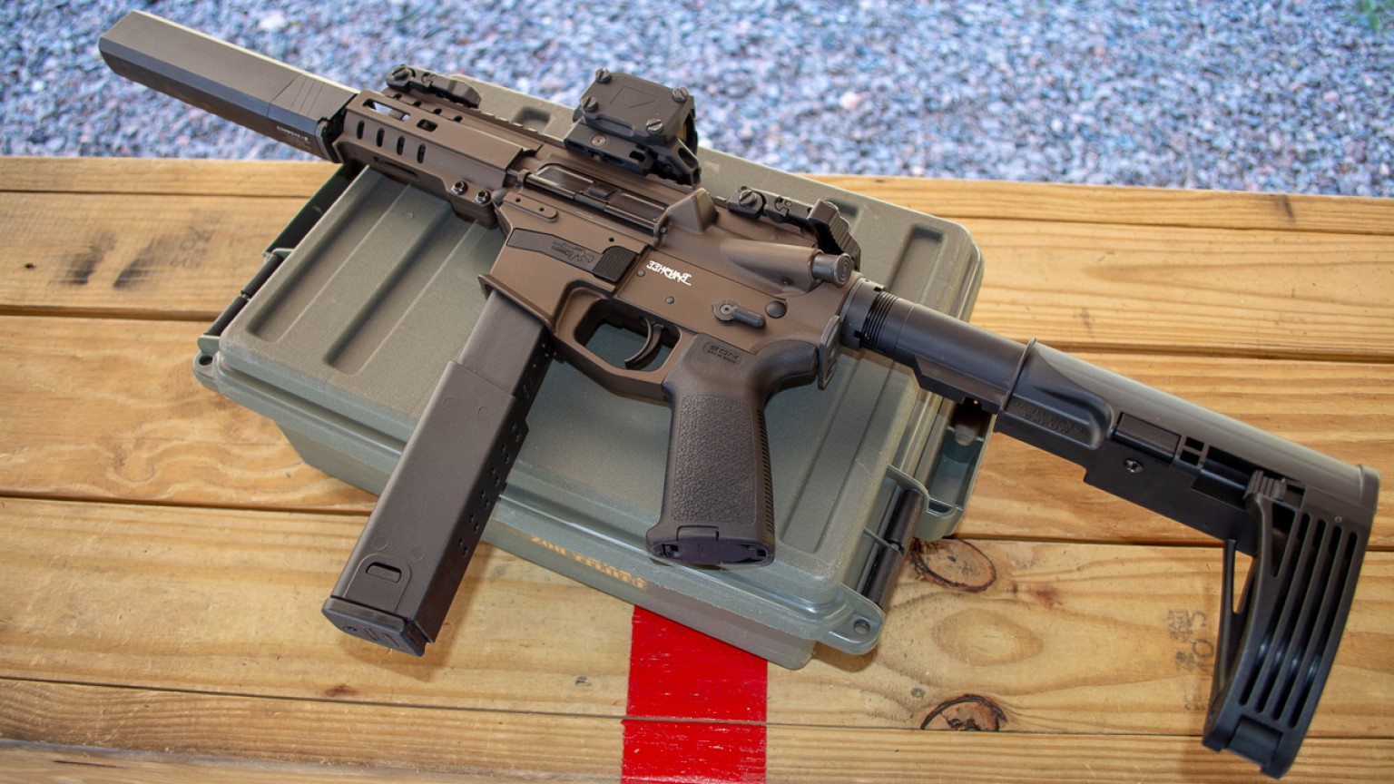 Kriss Vector .45 Magazine: Big Capacity For The New Cmmg Banshee Kriss Magex