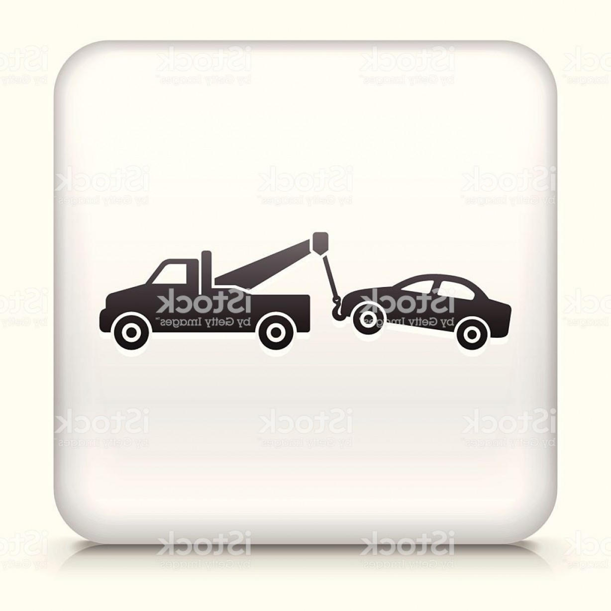 Towing Truck Hook Vector: Big Tow Truck Hook Clip Art
