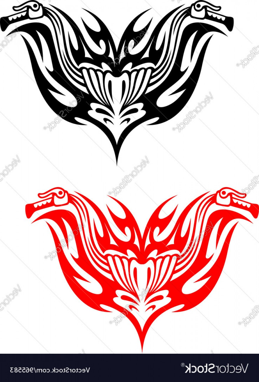 Tribal Flames Vector Car: Biker Tattoos With Fire Tribal Flames Vector