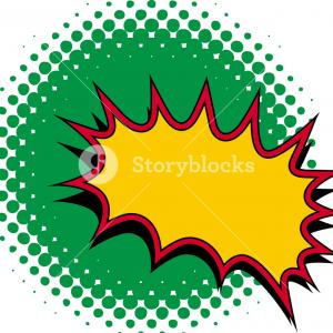 Burst Clip Art Vector: Big Cat Vector Clipart Of A Leaping Panther With A Sun Burst By Patrimonio