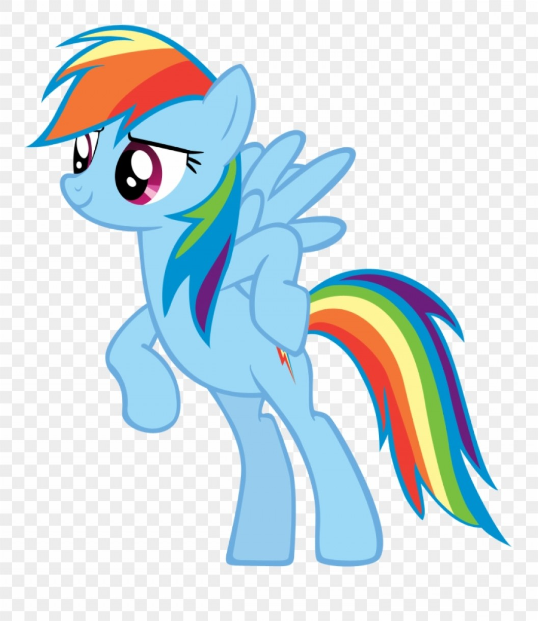 Angry Rainbow Dash Vector: Bjriobc First Vector Mlp Rainbow Dash Happy Clipart