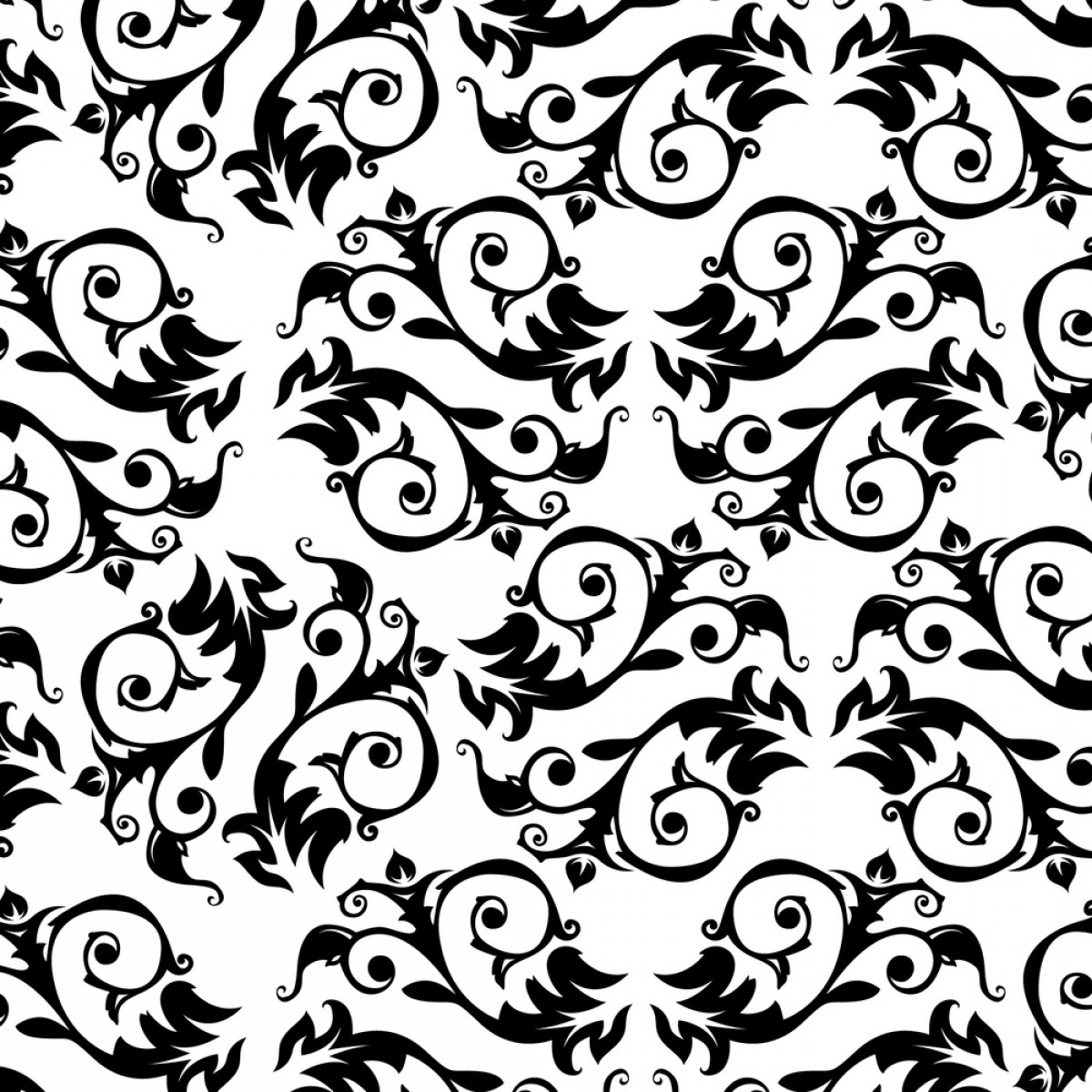 Elegant Patterns Vector Png: Black And White European Style Pattern Background Vector Material