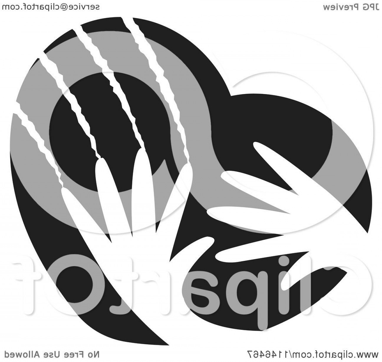 Violent Vector Art: Black And White Violent Hands Scratching A Heart