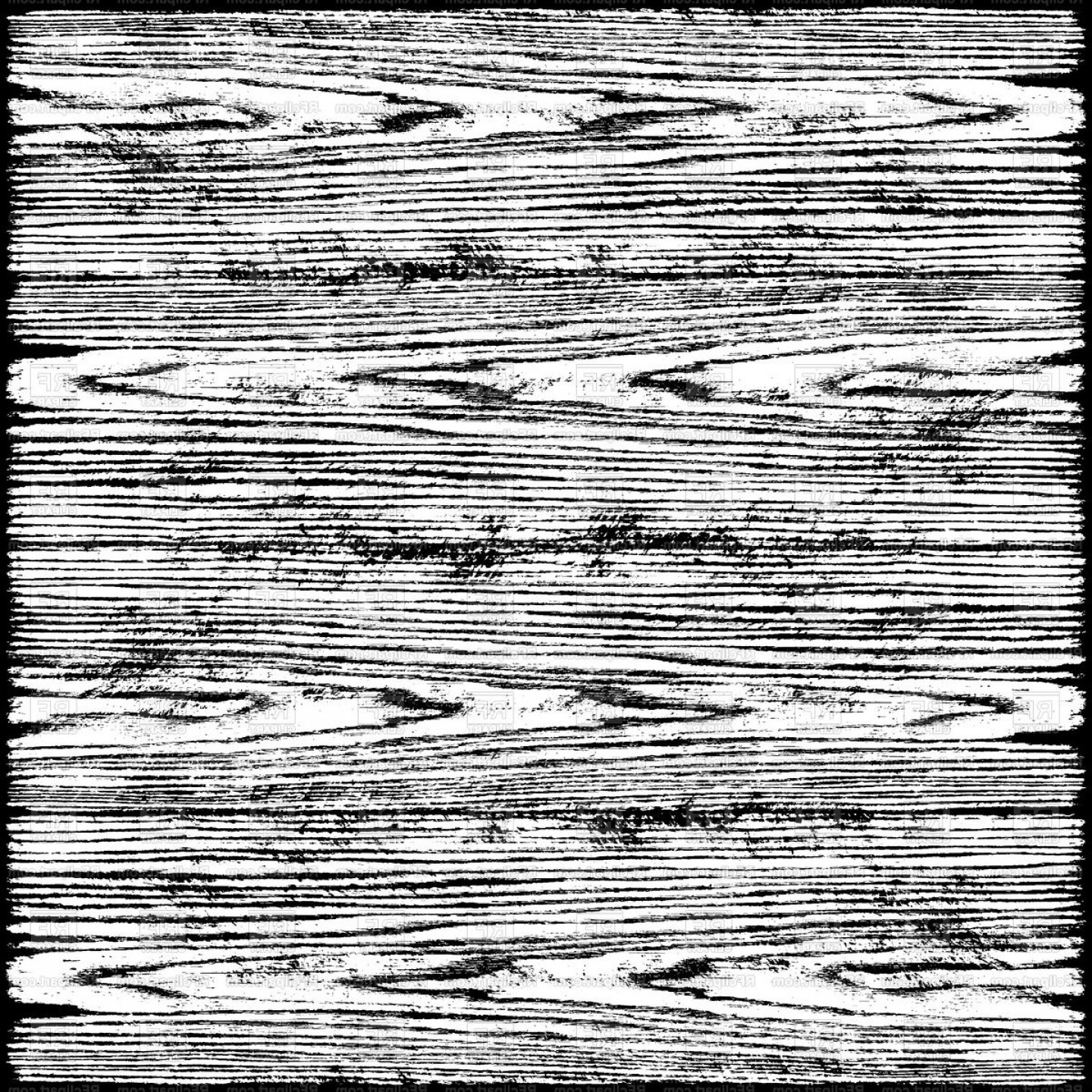 Wood Plank Vector Art: Black And White Wooden Planks Texture Vector Clipart
