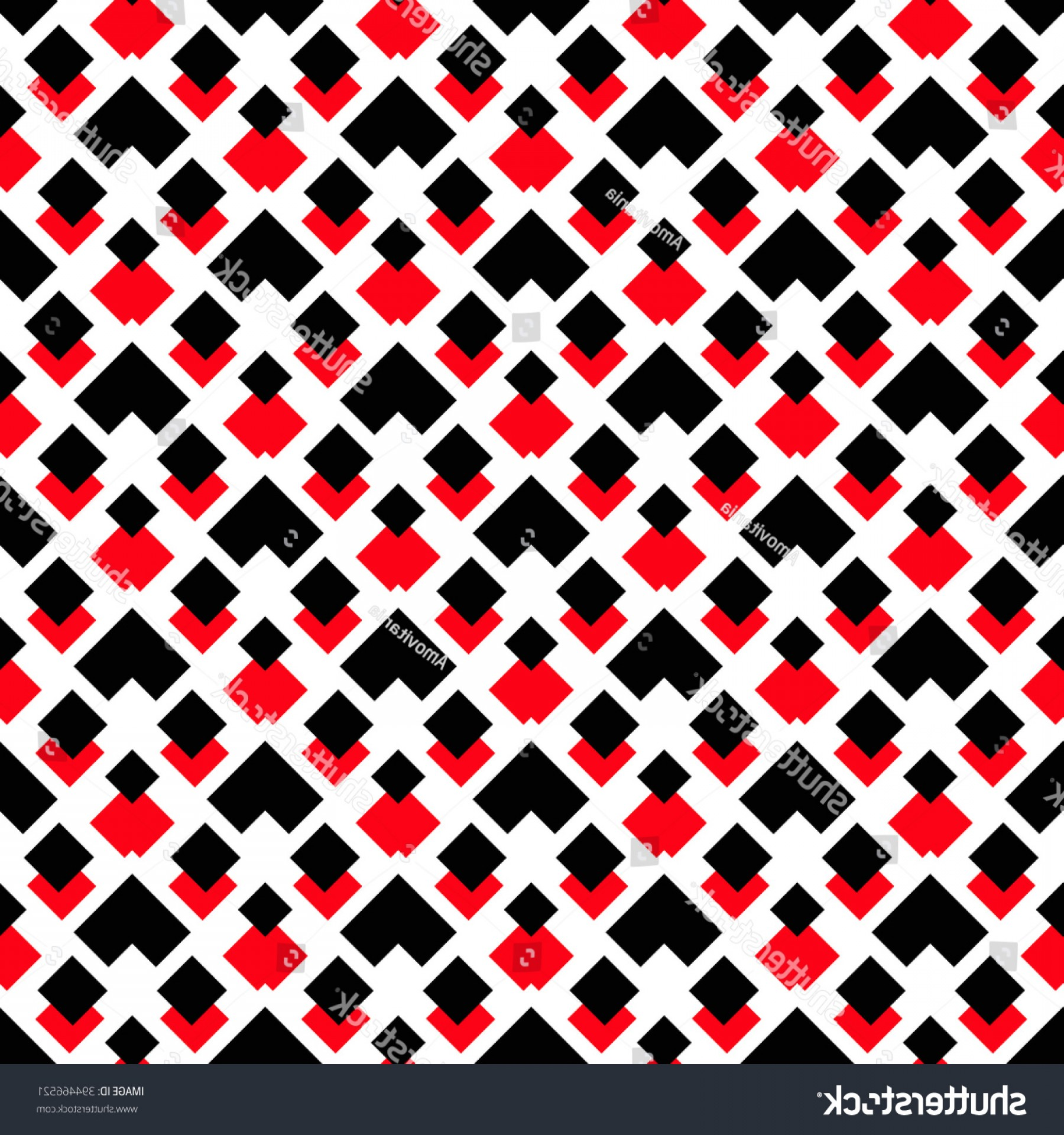 Red Black And White Vector Art: Black White Red Graphic Seamless Pattern