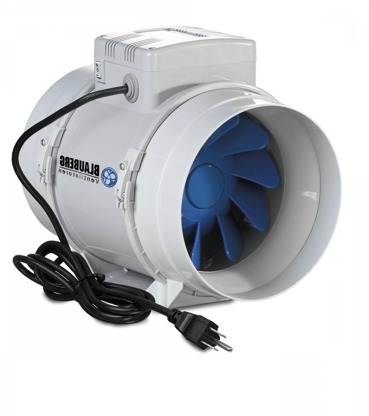 Vector Exhaust Fan: Blauberg Turbo Inline Mixed Flow Fan Inch Cfm