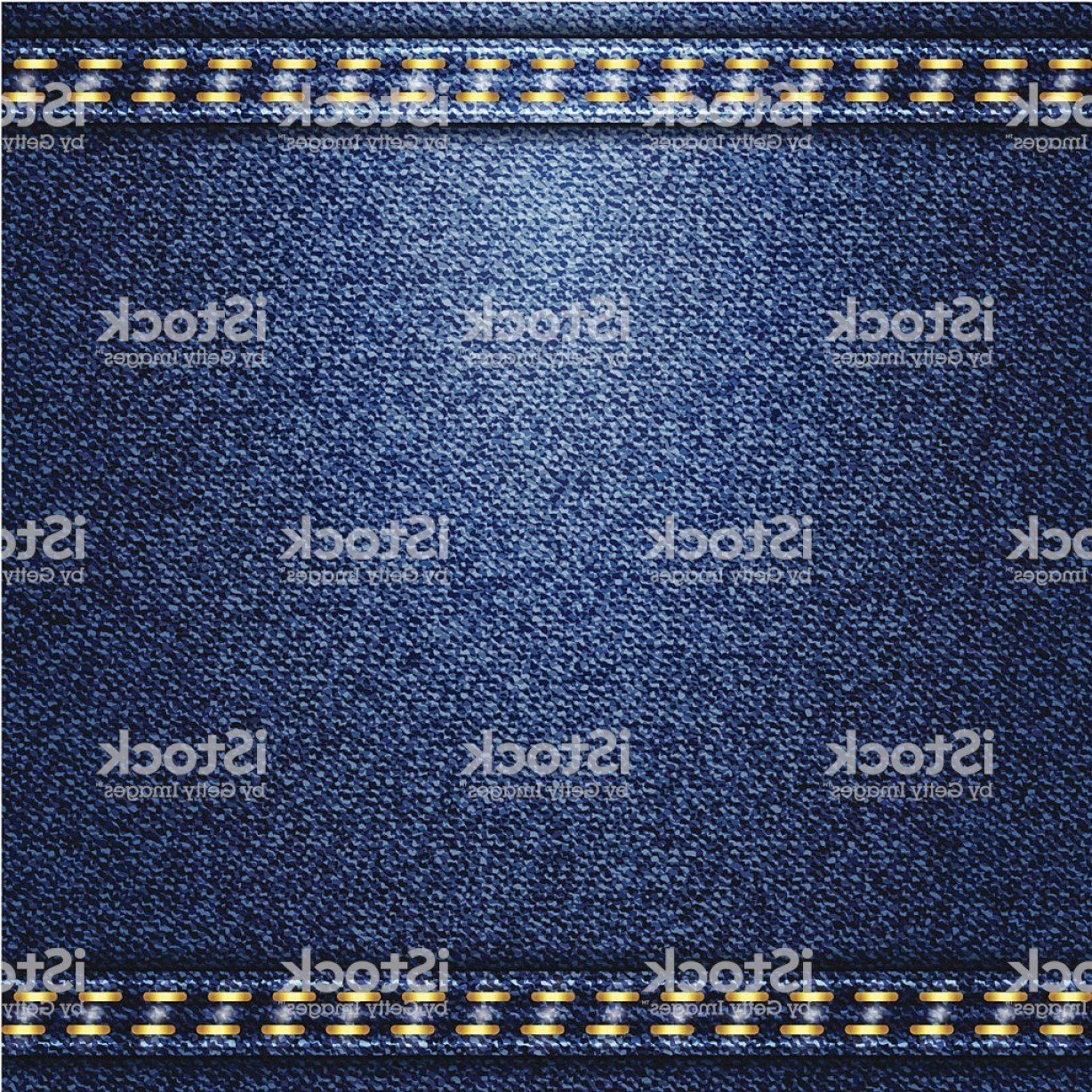 Denim And Pearls Vector: Blue Jeans Realistic Denim Texture Gm