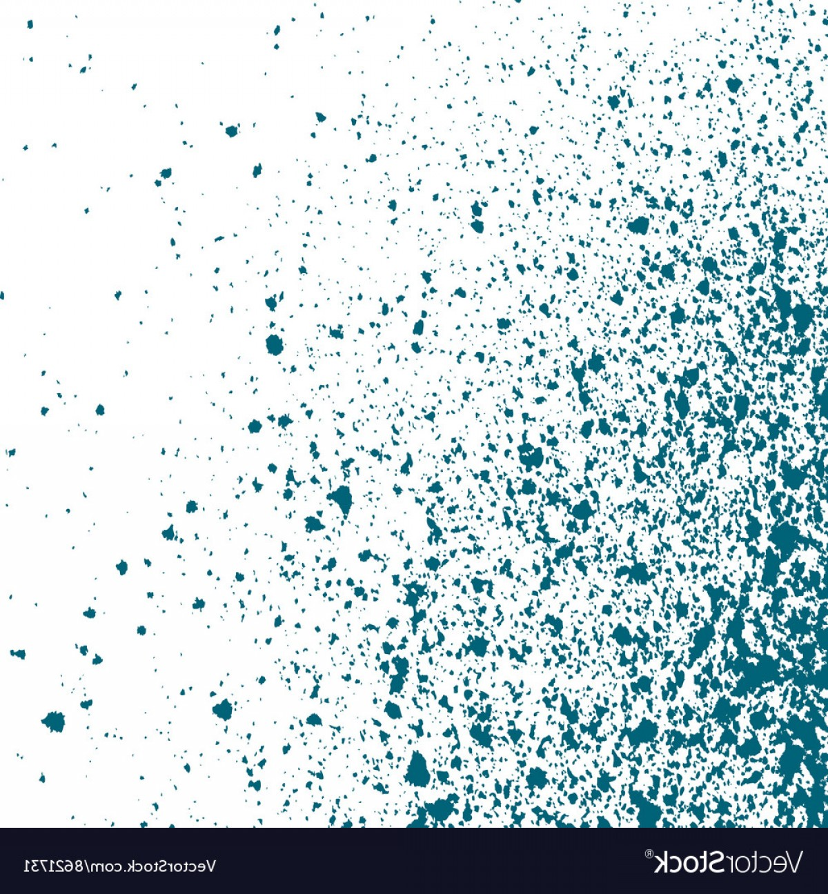 Blue With White Background Vector: Blue Light Ink Paint Splatter On White Background Vector