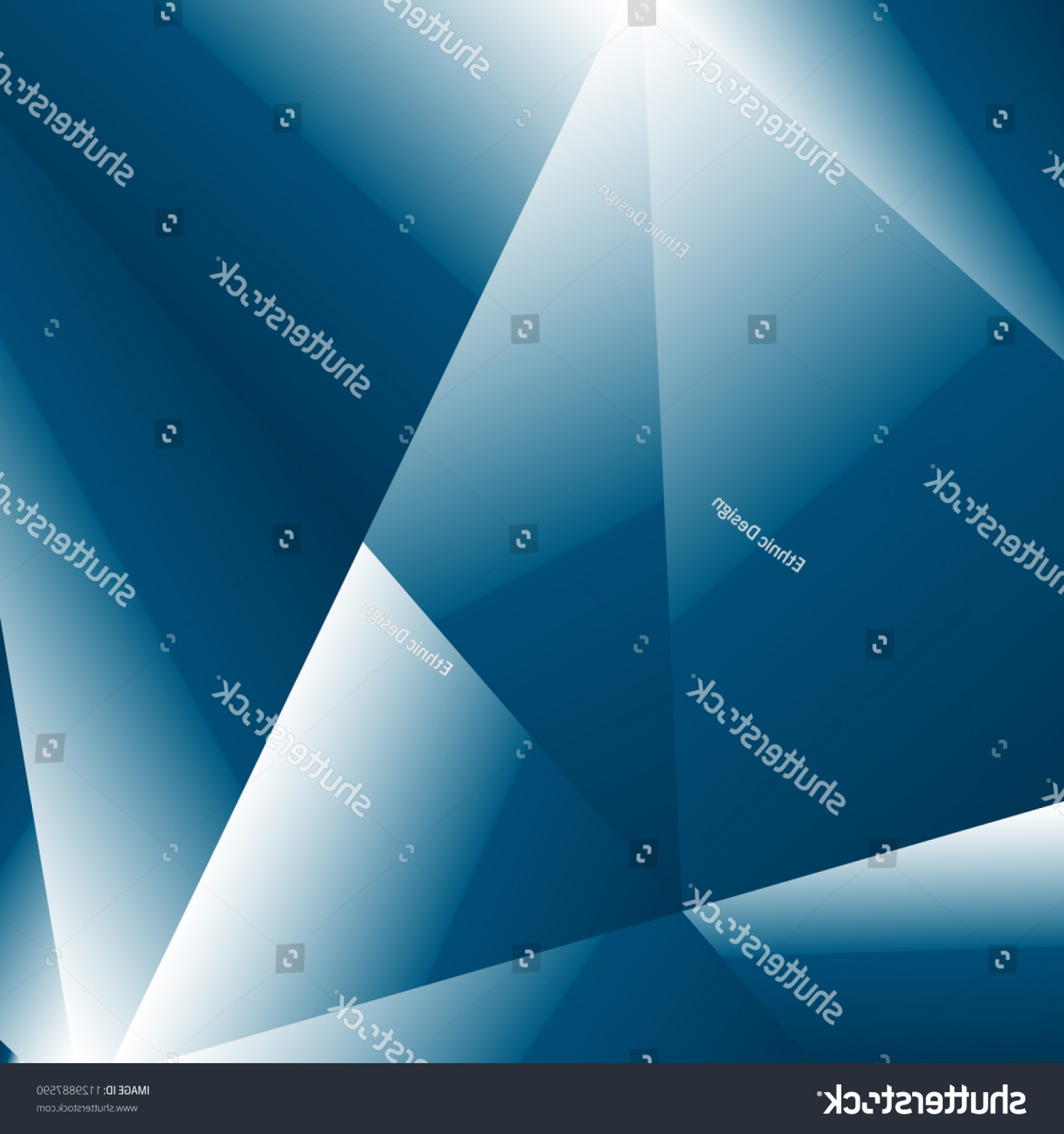 Vector Blue Luxury: Blue Luxury Background Brilliant Fractal Vector