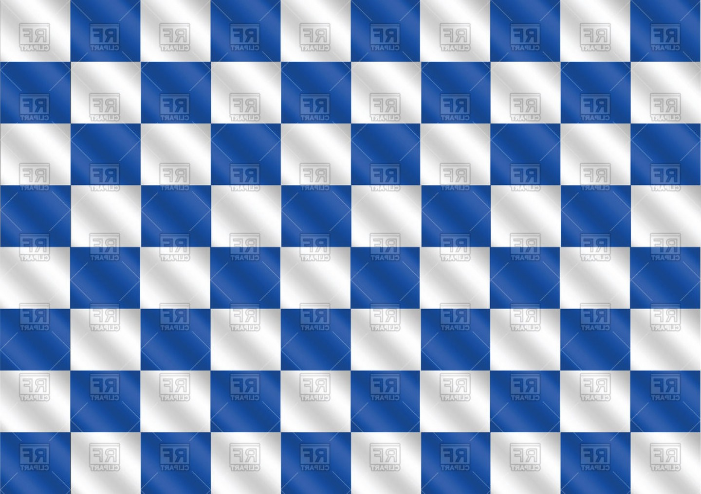 Checkered Flag Background Vector: Blue Racing Flag Background Vector Clipart