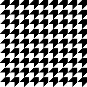 Houndstooth Vector: Abstract Geometric Background Houndstooth Vector Pattern