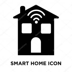 Black Home Icon Vector: Black Home Icon Vector Illustration On White Background Gm