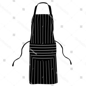 Apron Vector: Apron Vector Line Icon Gm