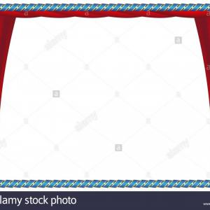 Vector Blue Luxury: Blue Frame With Ribbon Luxury Vintage Border Vector Illustration Image