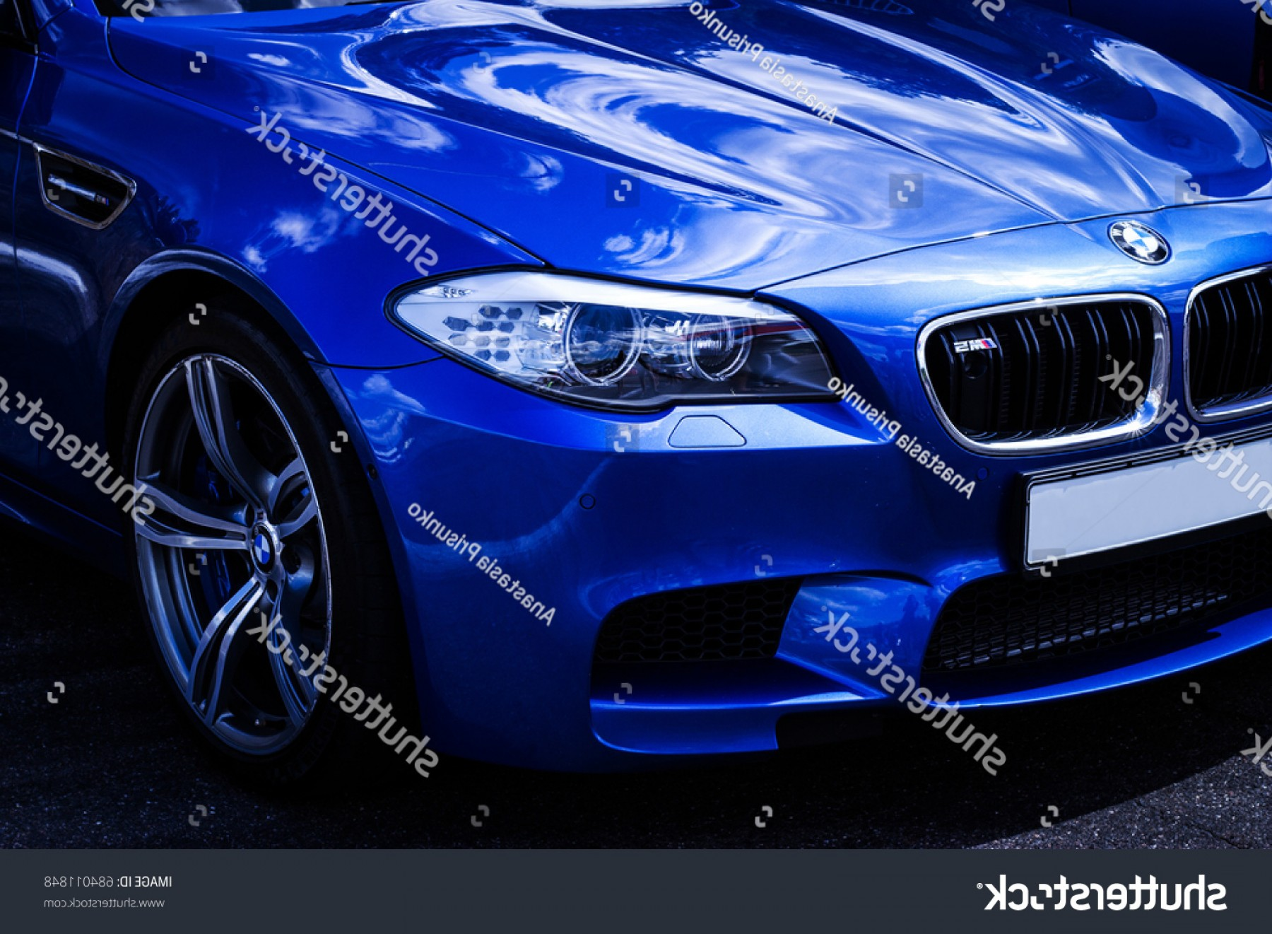 BMW F10 Vector Art: Bmw M F Blue Color Exhibition