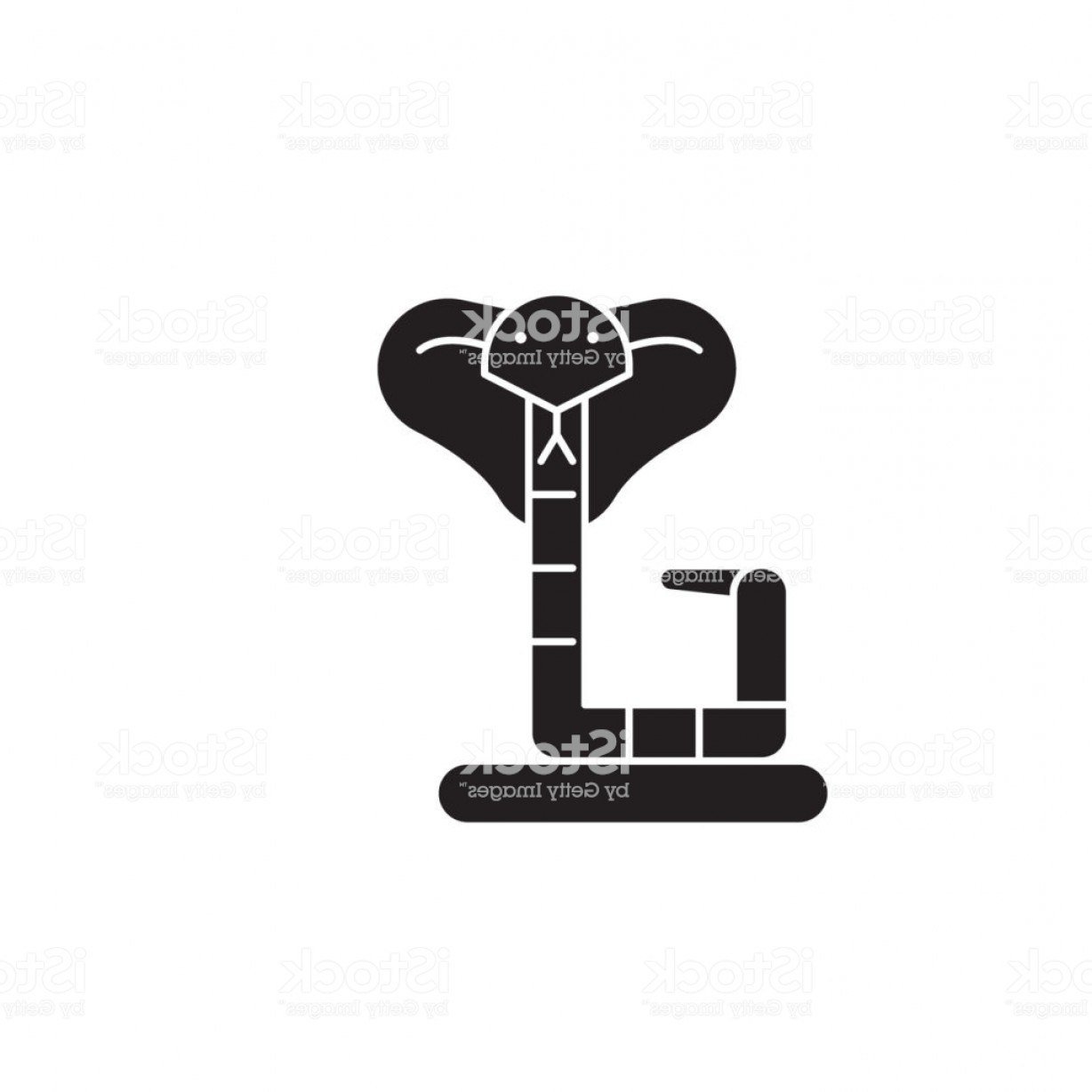 Amazon Icon Vector: Boa Black Vector Concept Icon Boa Flat Illustration Sign Gm