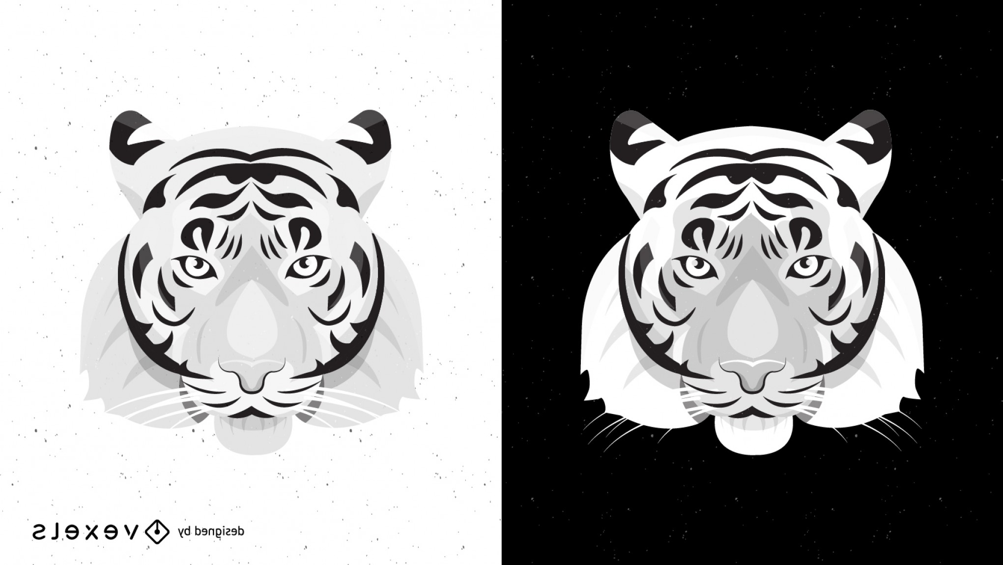 Missouri Tigers Logo Vector Black And White: Both Black And White Tiger Vector