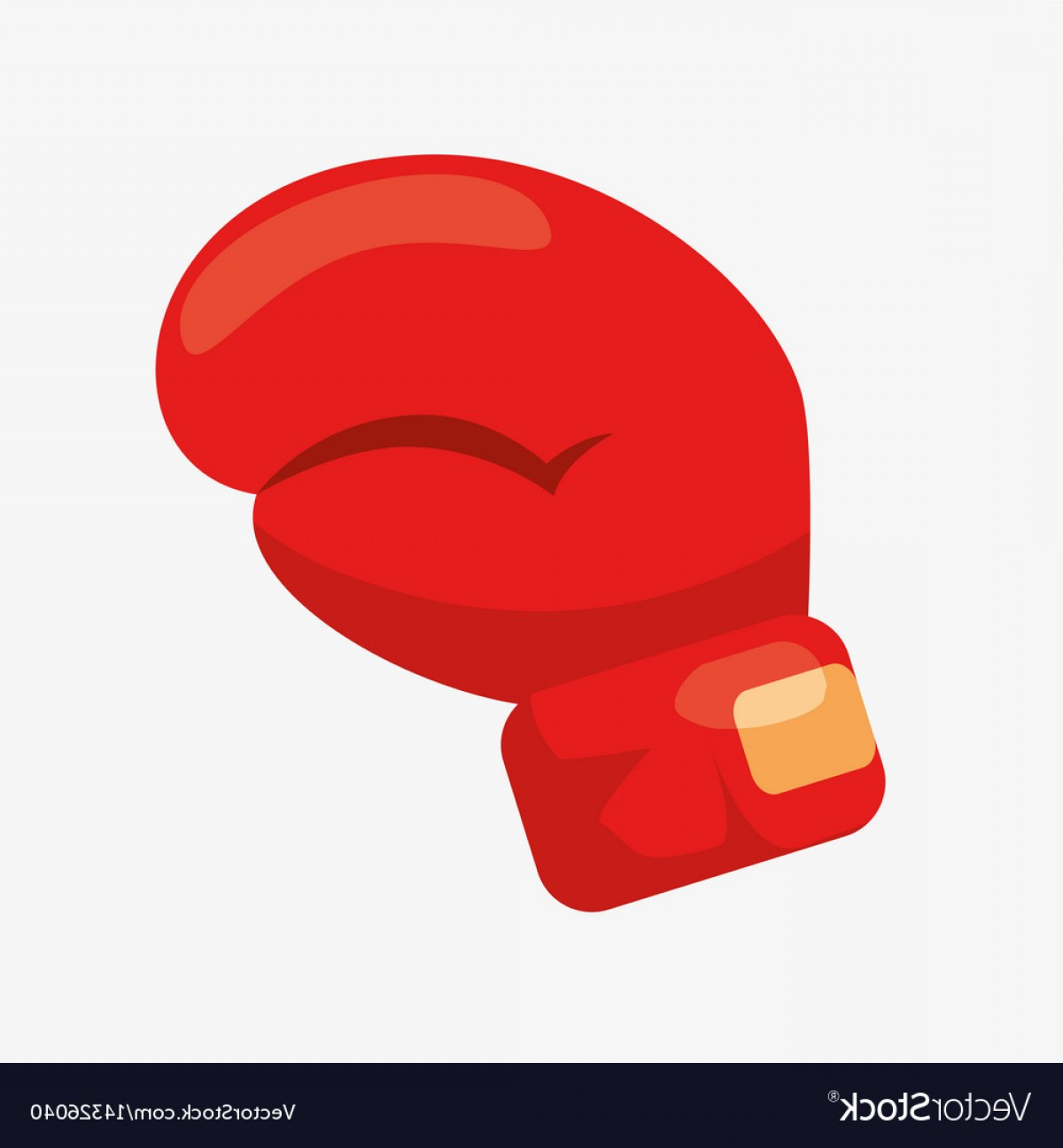 Pictures Of Boxing Gloves Vector Art: Boxing Glove Cartoon Icon Vector